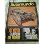 Automundo 74 Casa Fiat Valiant 3 Minijuniors 2cv Turismo Car