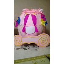 Piñata Carruaje Princesas Tipo Mexicanas