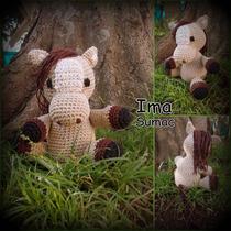 Caballo Amigurumi Tejido Crochet Artesanal