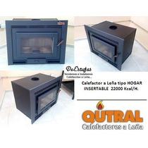 Hogar Salamandra Calefactor A Leña Insertable / Empotrable
