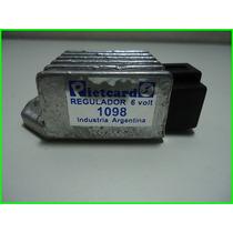 Regulador C/c+c/a 6v Pietcard 1098 Gilera Qax 100