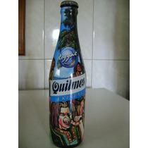 Botella De Cerveza Quilmes Edicion Musica Reggal Vacia
