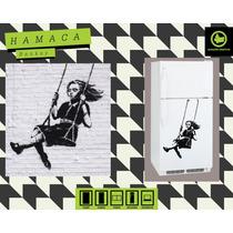 Stickers Decorativos Autoadhesivos. Banksy Hamaca