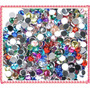 50 Strass Colores Maquillaje Artistico 2,3,4,5 Y 6mm Ydnis