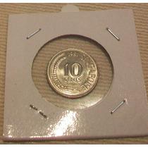 Moneda De Singapur - 10 Centavos De 1981