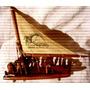 Antiguo Velero Barco A Vela- Maceio Brasil-maqueta