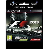 F1 2013 Entrega Inmediata De Ps Store A Tu Play