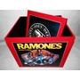 Cajas Discos Vinilos Con Tapa: Ramones - Marte Artesanias