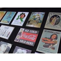 Cuadros Vintage, Publicidades Antiguas En Bastidor