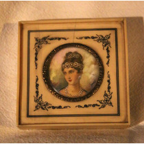 Miniatura Francesa De La Emperatriz Josefina - Firmada