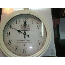 Reloj Chapa Vintage 34 Cm#