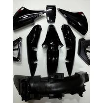 Kit Plasticos Motomel Cg150 S2/s3 Negros Original. Cr Motos.