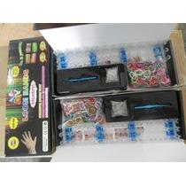 Rainbow Loom Bands- Telar +600 Gomitas+ 24 Ganchos