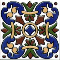 Azulejos -mayolicas Patio Español En Relieve Soy Fabricante