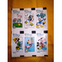 Dos Planchas De Viñetas Recortables De Disney Antiguas