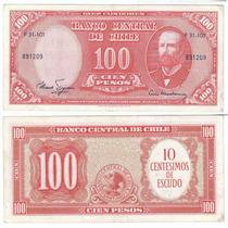 Chile, Uruguay Y Honduras, 3 Billetes Diferentes (lote A23)