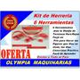 Kit De Herreria - 6 Herramientas - Rejas Forja Dobladora
