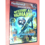 Ps2 - Destroy All Humans (i620) Original