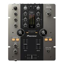 Pioneer Djm250 Mezcladora Compactera Mixer 2canales Dj Audio