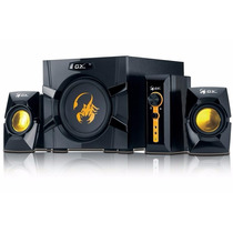 Parlantes Genius 2.1 Gx Sw-g 3000 Subwoofer 70w Pc Tv Dvd