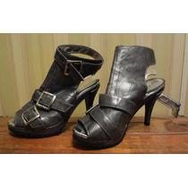 Zapatos Stilletos Plataforma De Goma Lucerna!