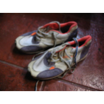 Zapatillas Ellese Niño Color Blanca Naranja 32