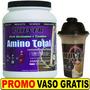 Amino Total Pulver 1kg + Glutamina + Taurina + Bcaa Shaker