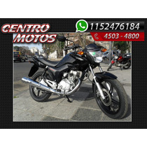 Honda Cg 150 Modelo 2016 Permuto Financio Centro Motos