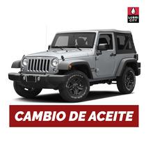 Cambio Aceite Y Filtro Jeep Wrangler 4.0 12v Desde 1997