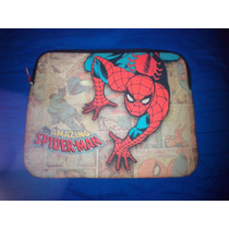 Funda Para Notebook De Spider Man