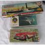 Antiguas Maquetas, Corvette, Auto Scalextric, Y Caja Vacia