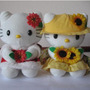 Adorables Kitty Que Llevan Muchas Florcitas ¡¡ Divinas!!