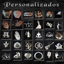 Dijes, Anillos, Aros, Pulseras. Personalizados A Tu Gusto.
