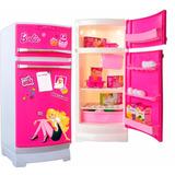Barbie Heladera Tu Primera Heladera Glam Con Accesorios
