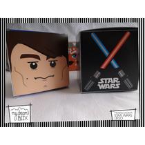 Souvenir Eventos Cumpleaños Caja Lego Star Wars Anakin Skywa