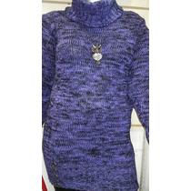 Sweater Largo Para Calza