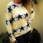 Sweater Estrellas Colore Combinado Buzo Saco Pulover Calzas