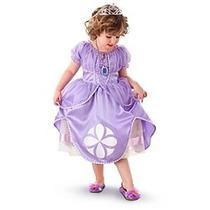 Vestido Princesa Sofia Disney Store Original Envio Gratis