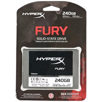 Ssd Kingston Hyperx Fury 240gb Sata Iii Pc Notebook Mac