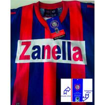 Camiseta Niño Retro Oficial San Lorenzo Perazzo T12 Falugan