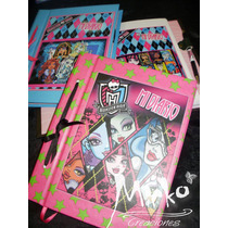 Diario Agenda Monster High Anotador C/ Lapicera!