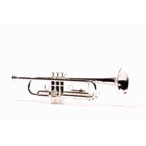 Trompeta Clef 300 Bañada En Plata!
