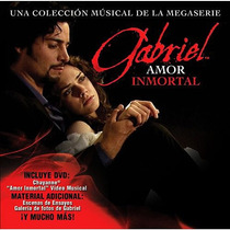 Gabriel Amor Inmortal Cd + Dvd Novela Chayanne Videos Fotos