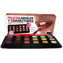 Paleta Correctores X18 Recargable Uso Prof. V Beautyshop