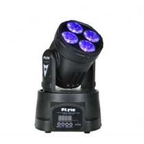 Alfie Mini Cabezal Movil De 4 Led De 10watt Dmx Rgbw
