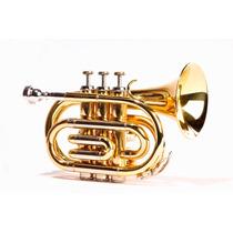 Trompeta Pocket Clef 150 Ideal Para Transportar O Para Niños