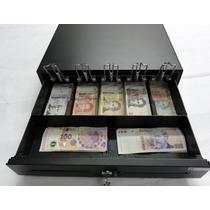 Gaveta Caja P/ Dinero Premium 5 Compartimientos Doble Buzon