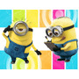 Kit Imprimible 2x1 Minions Mi Villano Fav Candy Bar Cotillon