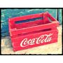 Cajon Coca Cola Vintage Antiguo Guardado, Ordenador, Madera