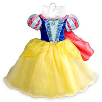 Disfraz Blancanieves Disney Store Original Usa